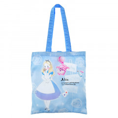 Japan Disney Eco Shopping Bag - Alice in the Wonderland Blue