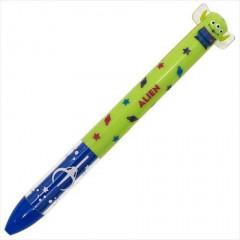 Japan Disney Two Color Mimi Pen - Toy Story Little Green Men Alien