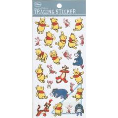 Japan Disney Sticker - Winnie the Pooh & Friends Comics Tracing Sticker