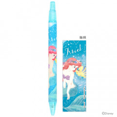 Japan Disney Mechanical Pencil - Princess Little Mermaid Ariel & Flounder Blue
