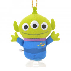 Japan Disney Key Chain Stuffed Toy - Toy Story Little Green Men Alien