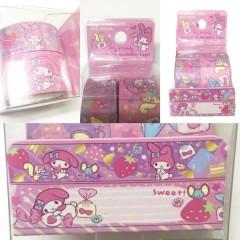 Sanrio Washi Paper Masking Tape 2pc Set - My Melody