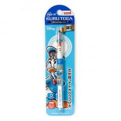 Japan Disney Uni Kuru Toga Auto Lead Rotation 0.5mm Mechanical Pencil - Donald Duck vs Chip & Dale