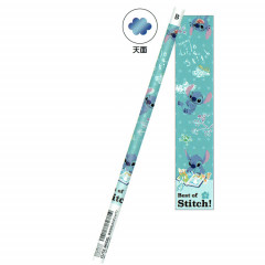 Japan Disney B Pencil - Stitch Reads Book