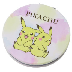 Japan Pokemon Pocket Makeup Zoom Mirror - Pikachu