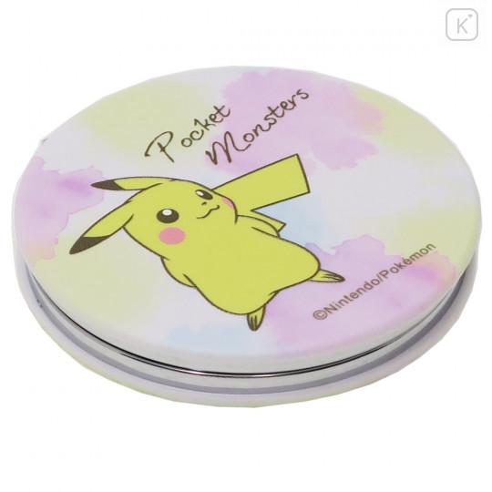 Japan Pokemon Pocket Makeup Zoom Mirror - Pikachu - 2