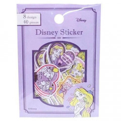 Japan Disney Sticker Flakes 40 pcs - Rapunzel
