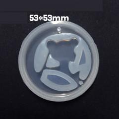 Mini Soft Mold - Sailor Moon Logo - DIY Decoden Clay UV Resin Flexible Reusable