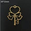 Circle Key Jewelry Charm Girl Power Magic Stick - Heart Stick - 1