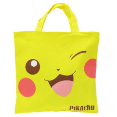 Japan Pokemon Mini Tote Bag Lunch Bag - Pikachu Yellow