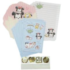 Japan Disney Letter Envelope Set - Tsum Tsum Claw Machine