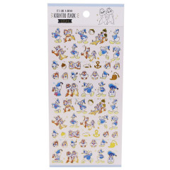 Japan Disney Seal Sticker - Donald Duck & Chip & Dale