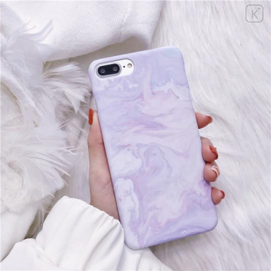 Purple Marble Ice Cream Phone Case - iPhone 6 Plus & iPhone 6s Plus - 1