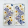 Pressed Flower Chrysanthemum Elegant Purple Phone Case - iPhone 7 & iPhone 8 - 1