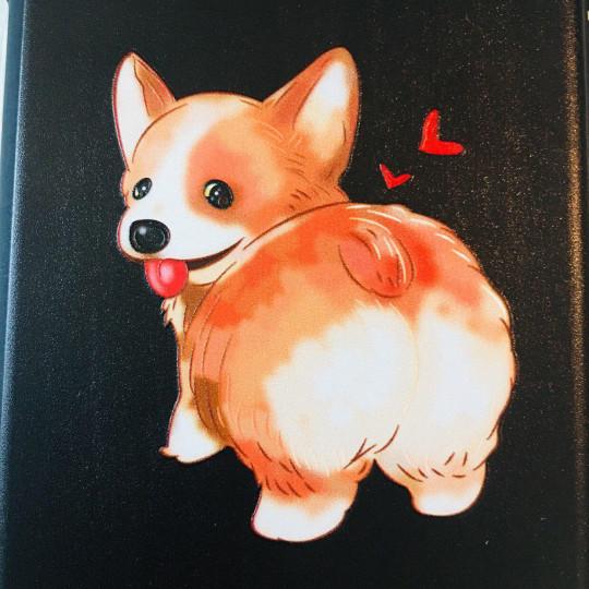 Cute Happy Corgi Butt Black Phone Case - iPhone 7 & iPhone 8 - 2