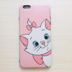 Pink Marie Cat Face Phone Case - iPhone XR