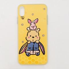 Honey Winnie the Pooh, Piglet & Eeyore Yellow Phone Case - iPhone X & iPhone Xs