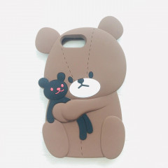 School Bear Rubber Phone Case - iPhone 6 & iPhone 6s & iPhone 7 & iPhone 8