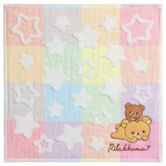 Japan San-X Mini Towel - Rilakkuma / Star