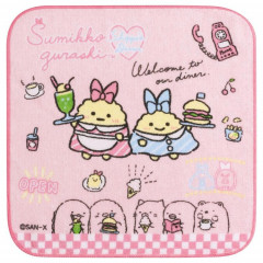 Japan San-X Petit Towel - Sumikko Gurashi / Shippo's Diner