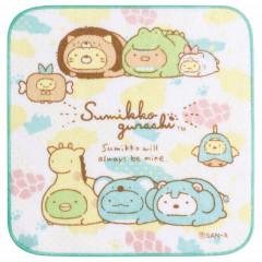 Japan San-X Petit Towel - Sumikko Gurashi / Animal Park