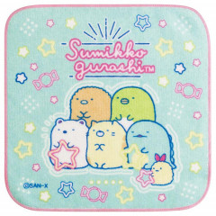 Japan San-X Petit Towel - Sumikko Gurashi / Green Blue