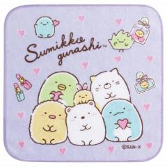 Japan San-X Petit Towel - Sumikko Gurashi / Purple