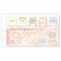 Japan San-X Index Sticky Notes - Sumikko Gurashi / Cat