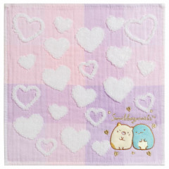 Japan San-X Mini Towel - Sumikko Gurashi / Heart