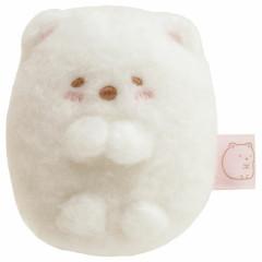 Japan San-X Sumikko Gurashi Mini Plush (SS) - Shirokuma Polar Bear / Easy Honyagurumi