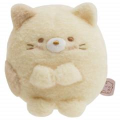 Japan San-X Sumikko Gurashi Mini Plush (S) - Neko Cat / Sitting Honyagurumi