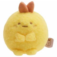 Japan San-X Sumikko Gurashi Mini Plush (S) - Ebifurai No Shippo Fried Shrimp Tail / Sitting Honyagurumi
