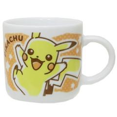 Japan Pokemon Porcelain Mug - Pikachu & Mimikyu
