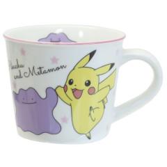 Japan Pokemon Ceramic Mug - Pikachu & Ditto