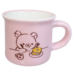Japan San-X Mini Porcelain Mug - Rilakkuma / Pancake