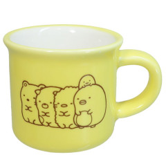 Japan San-X Mini Porcelain Mug - Sumikko Gurashi / Yellow