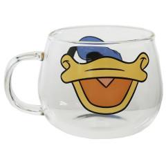 Japan Disney Glasses Mug - Donald