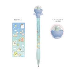 Japan San-X Sumikko Gurashi Mascot Ballpoint Pen - Tokage Lizard / Starry Sky Walk