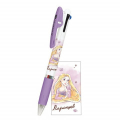 Japan Disney × Jetstream 3 Color Multi Pen - Rapunzel Purple