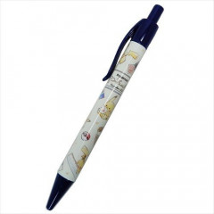 Japan Pokemon Ball Pen - Pikachu & Stationery Blue