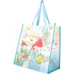 Japan Disney Princess Shopping Tote Bag - Little Mermaid Ariel