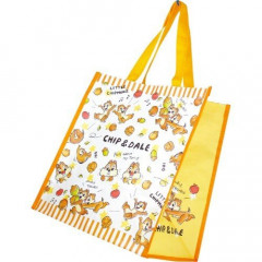 Japan Disney Shopping Tote Bag - Chip & Dale