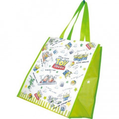 Japan Disney Toy Story Shopping Tote Bag - Little Green Men Alien