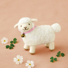 Japan Hamanaka Wool Needle Felting Kit - Sheep