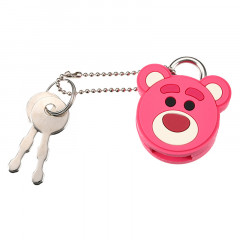 Disney Toy Story Key Chain Face Padlock - Lotso