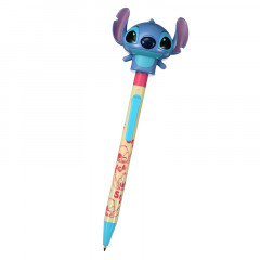 Japan Disney Funny Ball Pen - Stitch & Movable Body