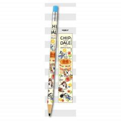 Japan Disney Mechanical Pencil - Chip & Dale & Donald Duck Tea Time