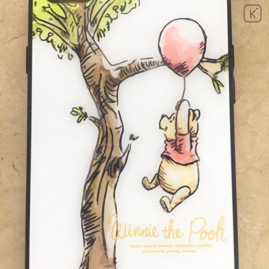 Winnie the Pooh & Tree White Glasses Phone Case - iPhone 7 & iPhone 8 - 2