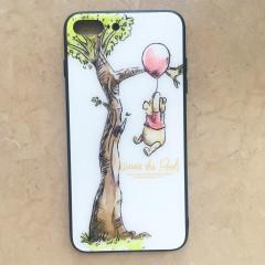 Winnie the Pooh & Tree White Glasses Phone Case - iPhone X & iPhone Xs