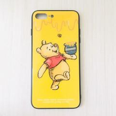 Winnie the Pooh & Honey Yellow Glasses Phone Case - iPhone 7 Plus & iPhone 8 Plus